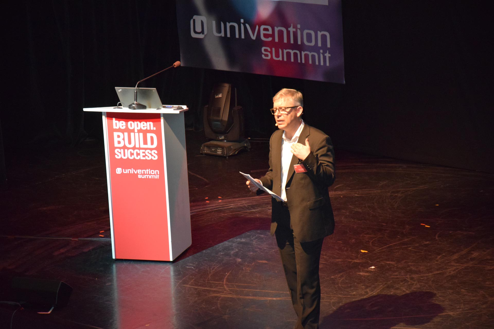 Peter Ganten, CEO Univention @Univention Summit 2016