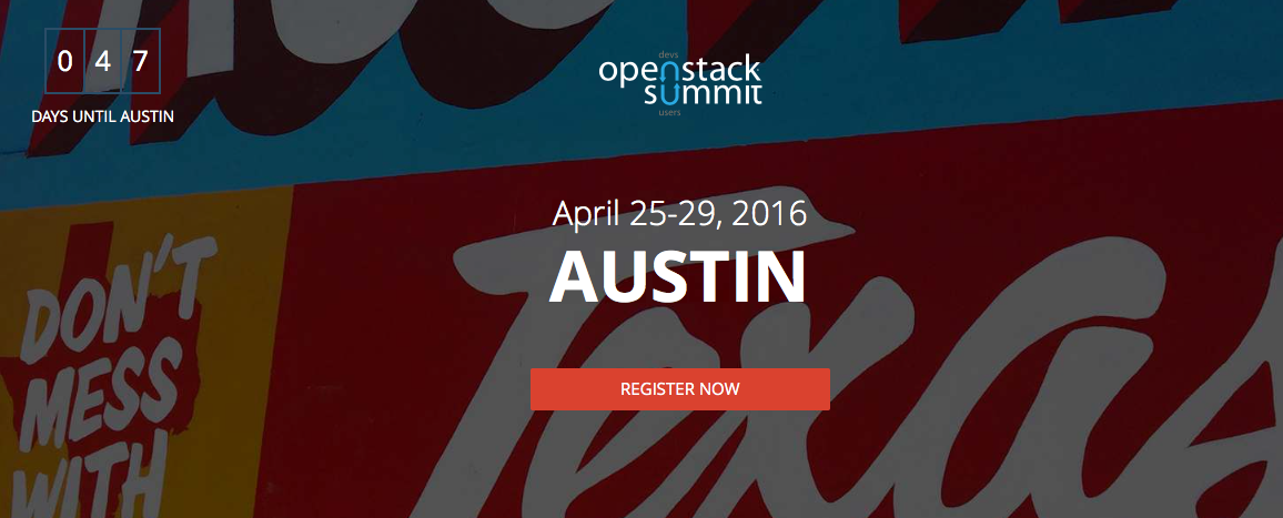 ScaleUp Technologies is Speaker at OpenStack Summit 2016 Austin