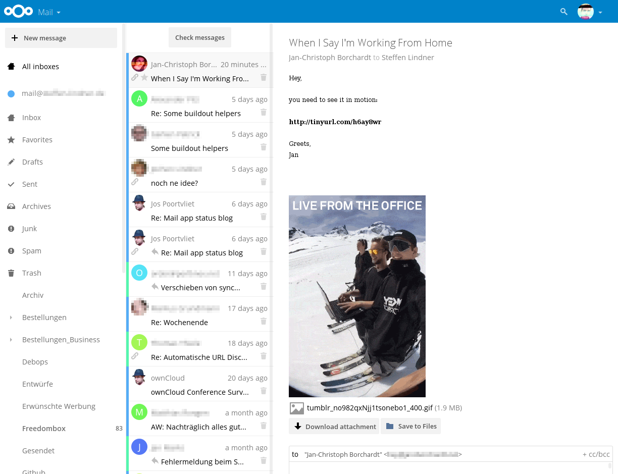 Nextcloud Mail