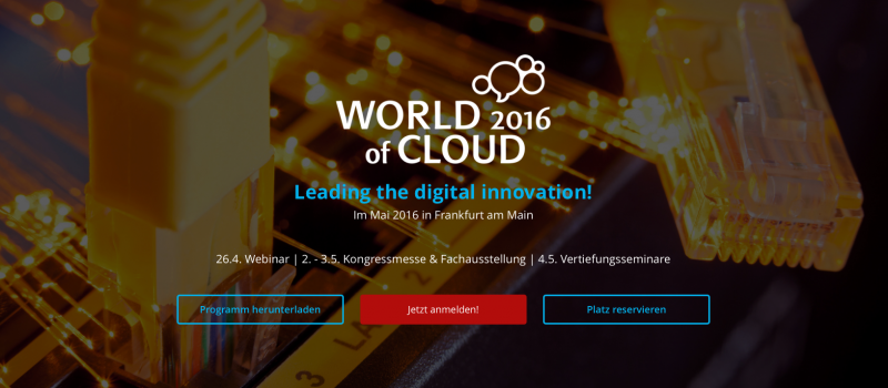 WORLD of CLOUD 2016